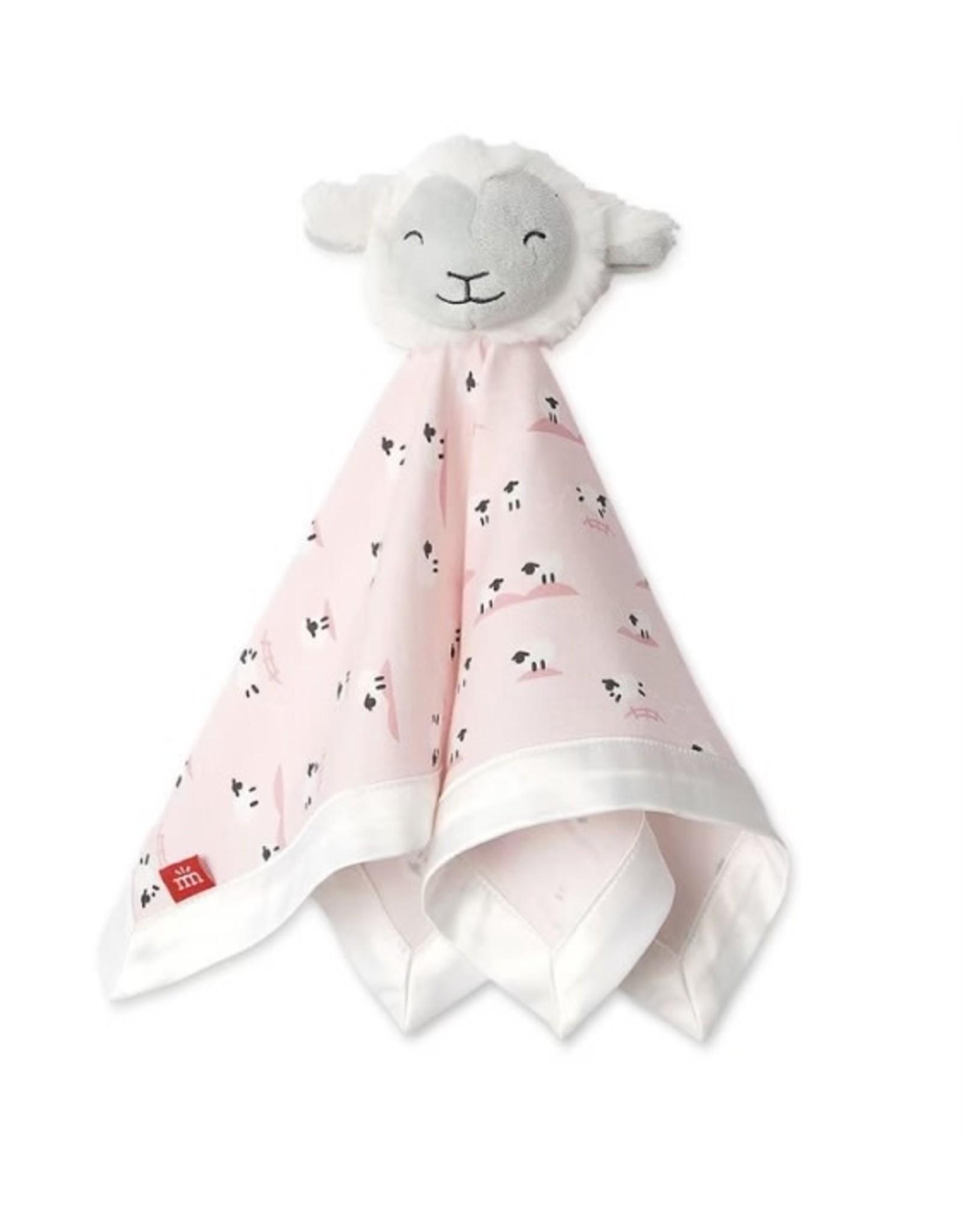 Magnetic Me Magnetic Me- Baa Baa Baby Pink Modal Lovey Blanket