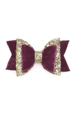Sweet Wink- Berry Bow Clip