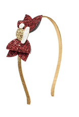 Sweet Wink- Santa Hat Hard Headband