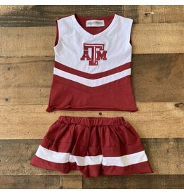Texas A & M Cheer Outfit