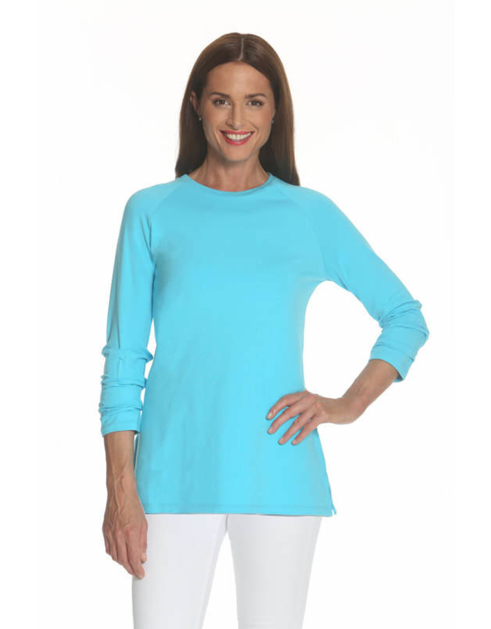 327 Ruched Sleeve Tunic