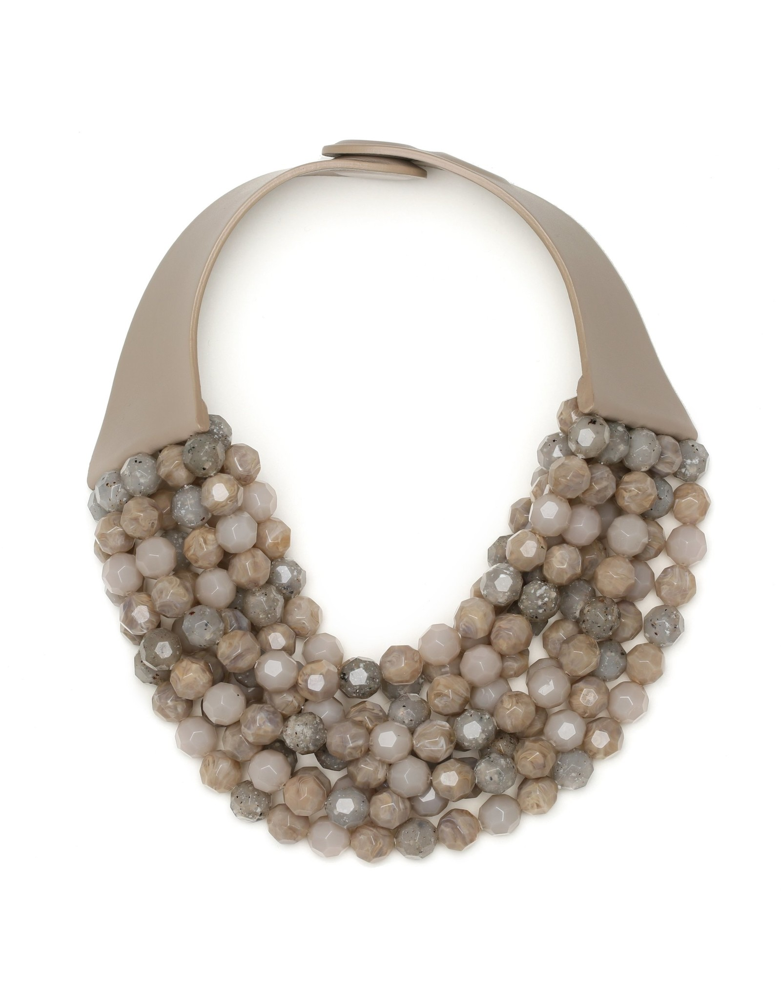 Fairchild Baldwin Bella Necklace Four Tone Earth