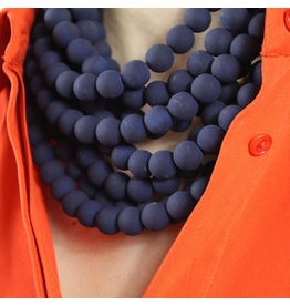 Fairchild Baldwin Bella Necklace Matte Navy
