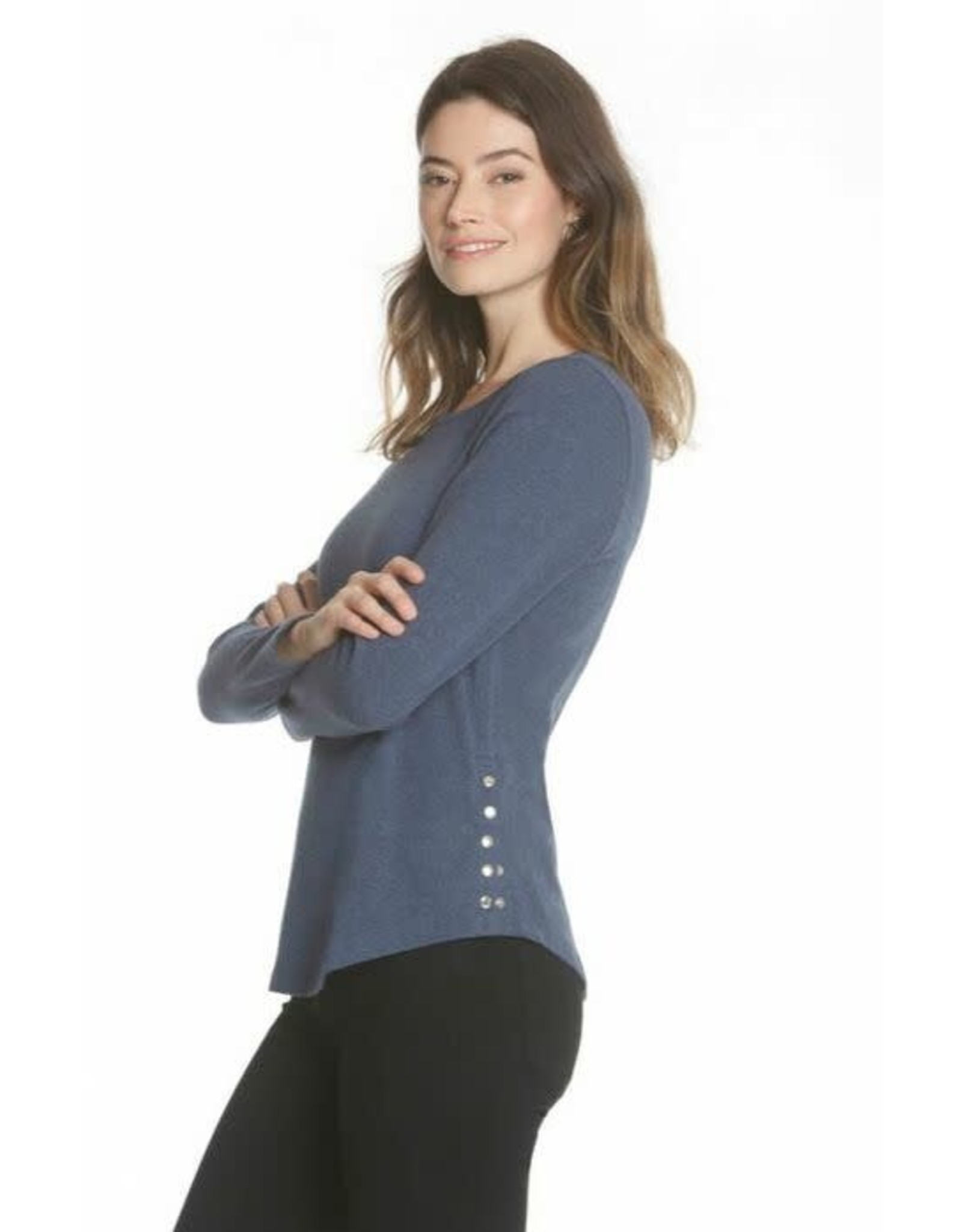454 L/S Top with Snaps