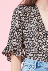 REBECCA TAYLOR L/S Louisa Floral Top
