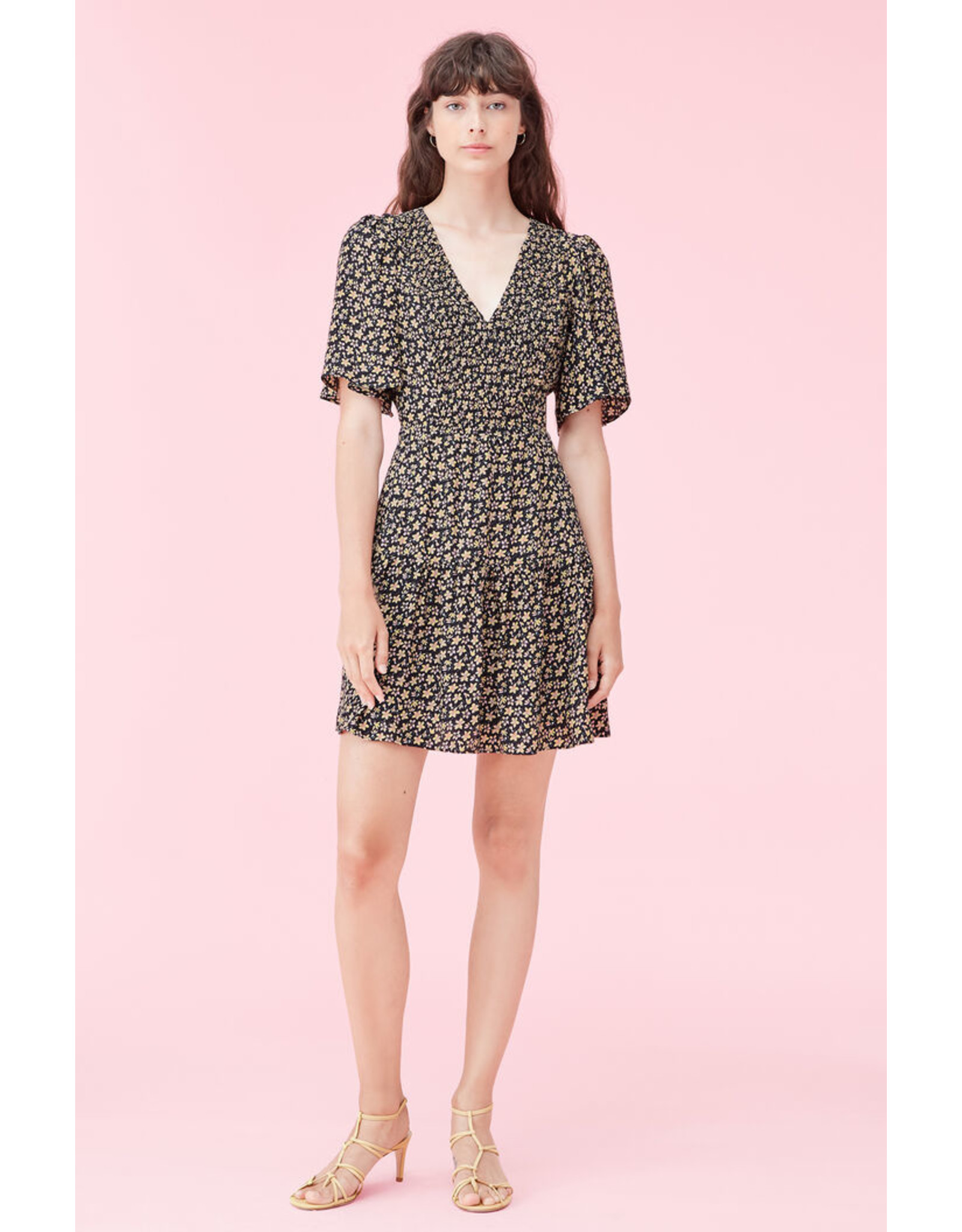 REBECCA TAYLOR S/S Louisa Floral Dress