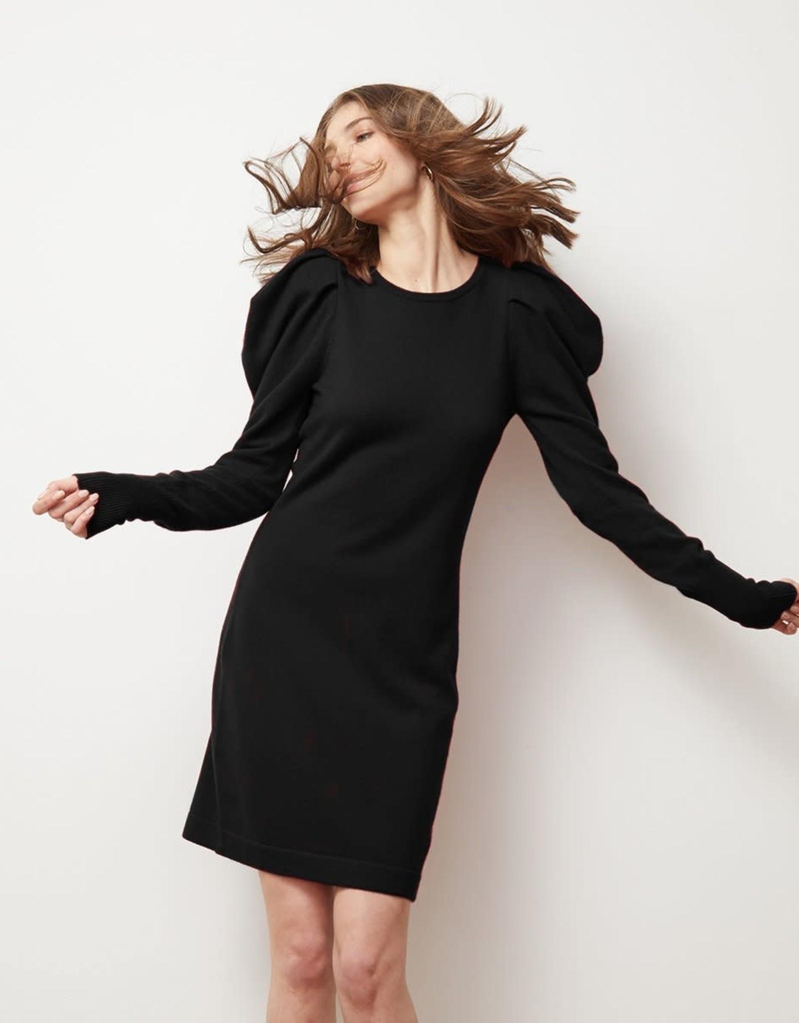 Autumn Cashmere Draped Sleeve Dress R11715