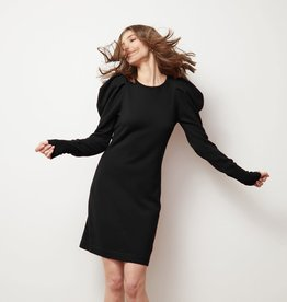 Autumn Cashmere Draped Sleeve Dress