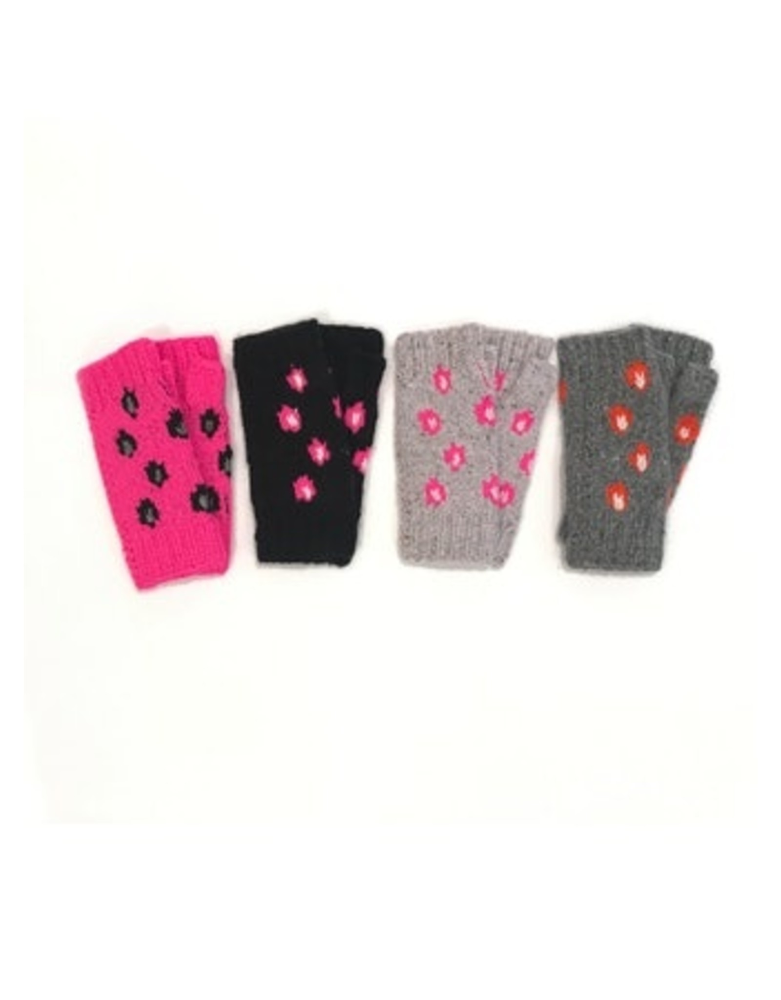 Autumn Cashmere AGX115 Chunky Leopard Handwarmers