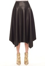 REBECCA TAYLOR Vegan Leather Skirt Size 10