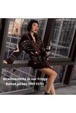 Autumn Cashmere RH11575 Navajo Fringe Jkt