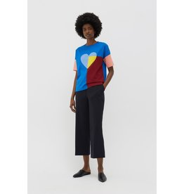 Chinti & Parker TR2 Heart Collage Tee