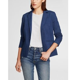 White + Warren K18688 Denim Blazer