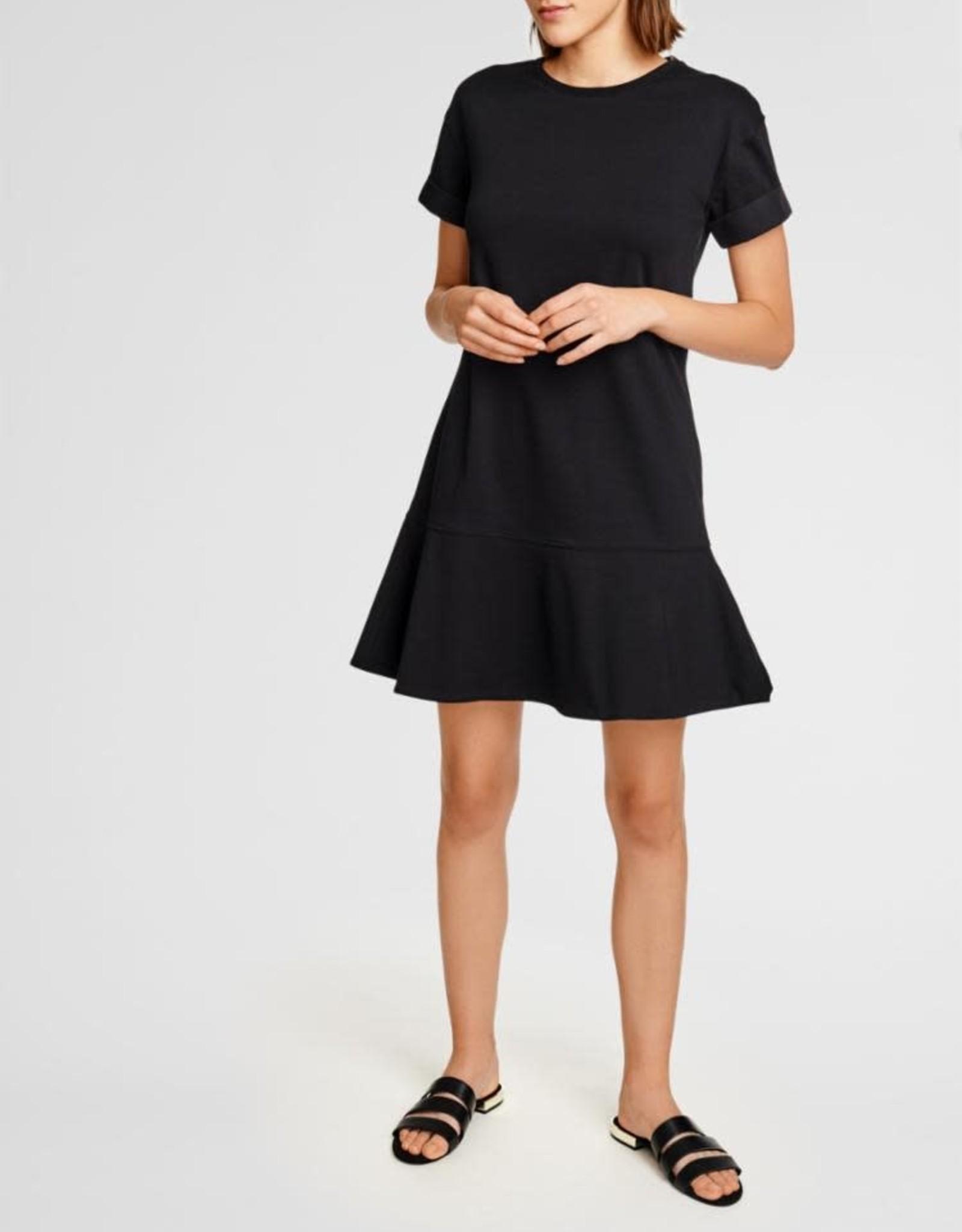 White + Warren K18664 Drop Waist Tee Dress