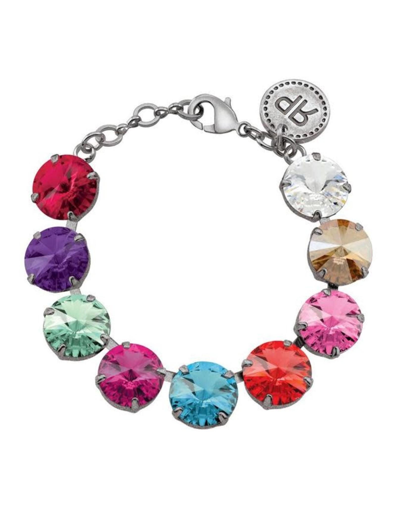 Rebekah Price Mulit Rivoli Bracelet