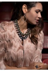 Rebekah Price Black Diamond Rivoli Necklace