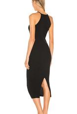 Autumn Cashmere N11850 Rib Halter Dress