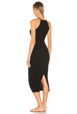 Autumn Cashmere N11850 Rib Halter Dress