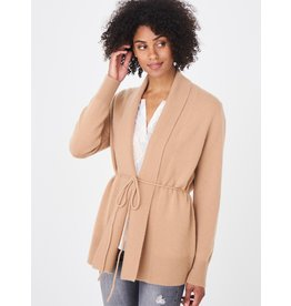 REPEAT 100456 Tie Cardigan