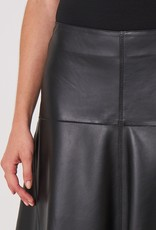 REPEAT 800120 Leather Skirt