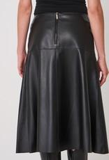 800120 Leather Skirt