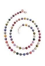 Rebekah Price Vega Necklace Rose Gold