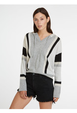 Autumn Cashmere Stripe Baja Hoodie R12319