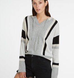 Autumn Cashmere Stripe Baja Hoodie