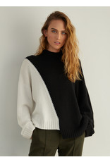 Autumn Cashmere Asym Color Block RH12036
