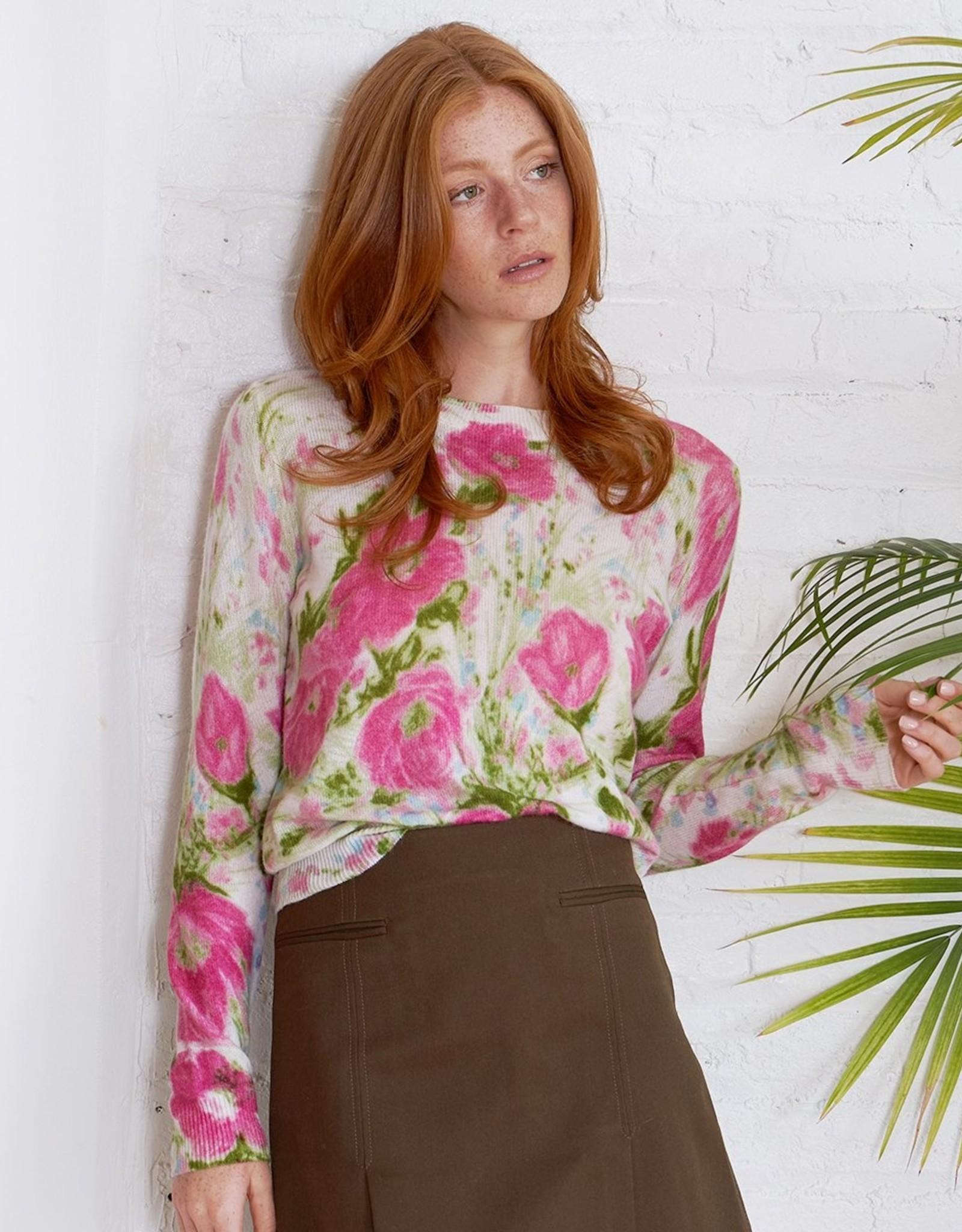 Autumn Cashmere Vintage Floral Crew R12072