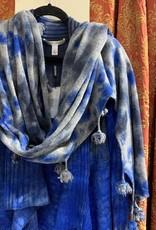 Autumn Cashmere Tie Dye Rib Drape RH12024