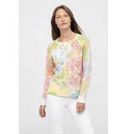 Kinross Bouquet Print Crew LRSCO-113