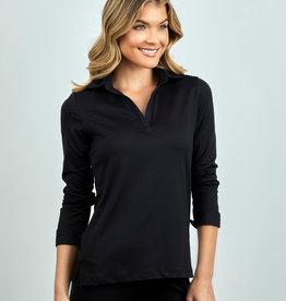 Anue Miami Woven Collar and Cuff Shirt