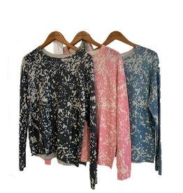 Autumn Cashmere BleachPrint Sweatshirt