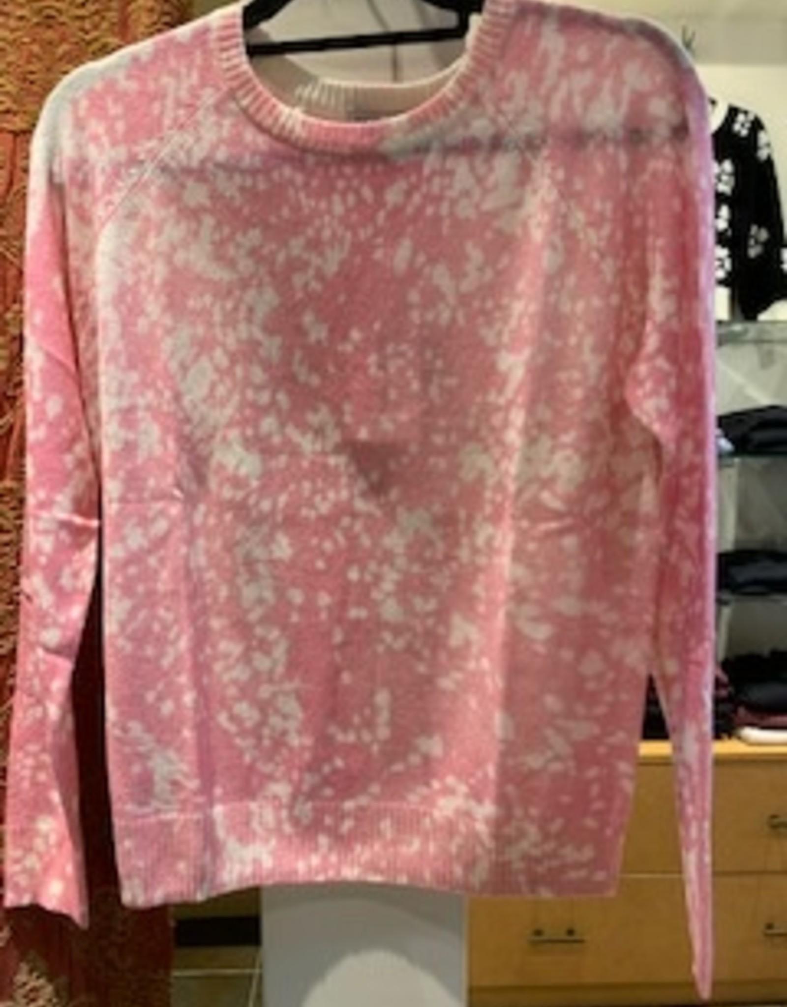 Autumn Cashmere BleachPrint Sweatshirt RT12217