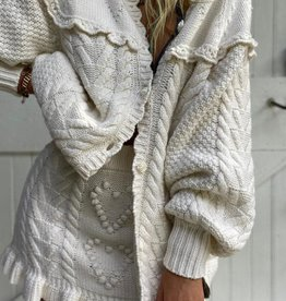 LoveShackFancy Lake BoyFriend Cardigan