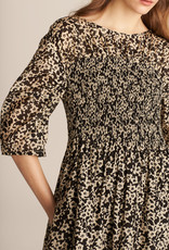 REBECCA TAYLOR Ruched Osaka Dress