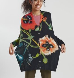 In Bed With You Oversize Floral Cardigan