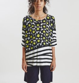 In Bed With You Oversize Tee with Floral Pattern