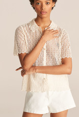 REBECCA TAYLOR Pina Embroidered Top