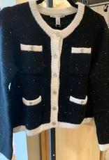 Autumn Cashmere Sequin Jacket RNP12628