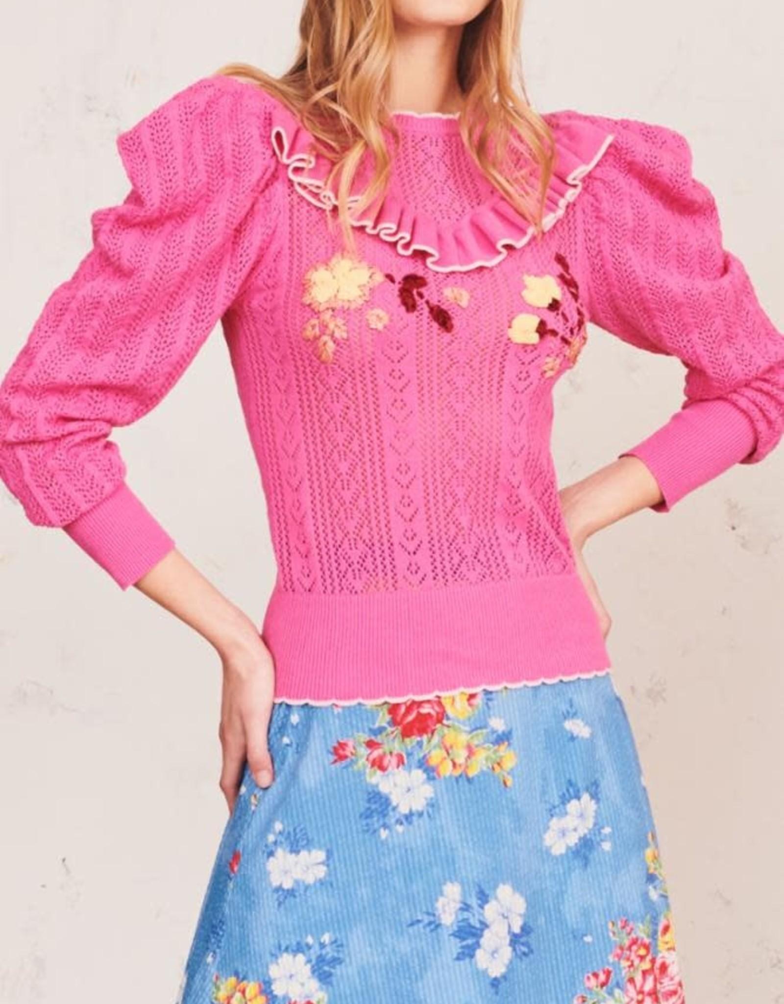 LoveShackFancy Rennley Sweater