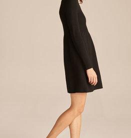 REBECCA TAYLOR Turtleneck Peplum Sweater Dress