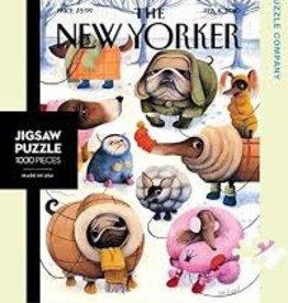 NY Puzzle Company Puzzles  - Dog Waits To Go Out Mini