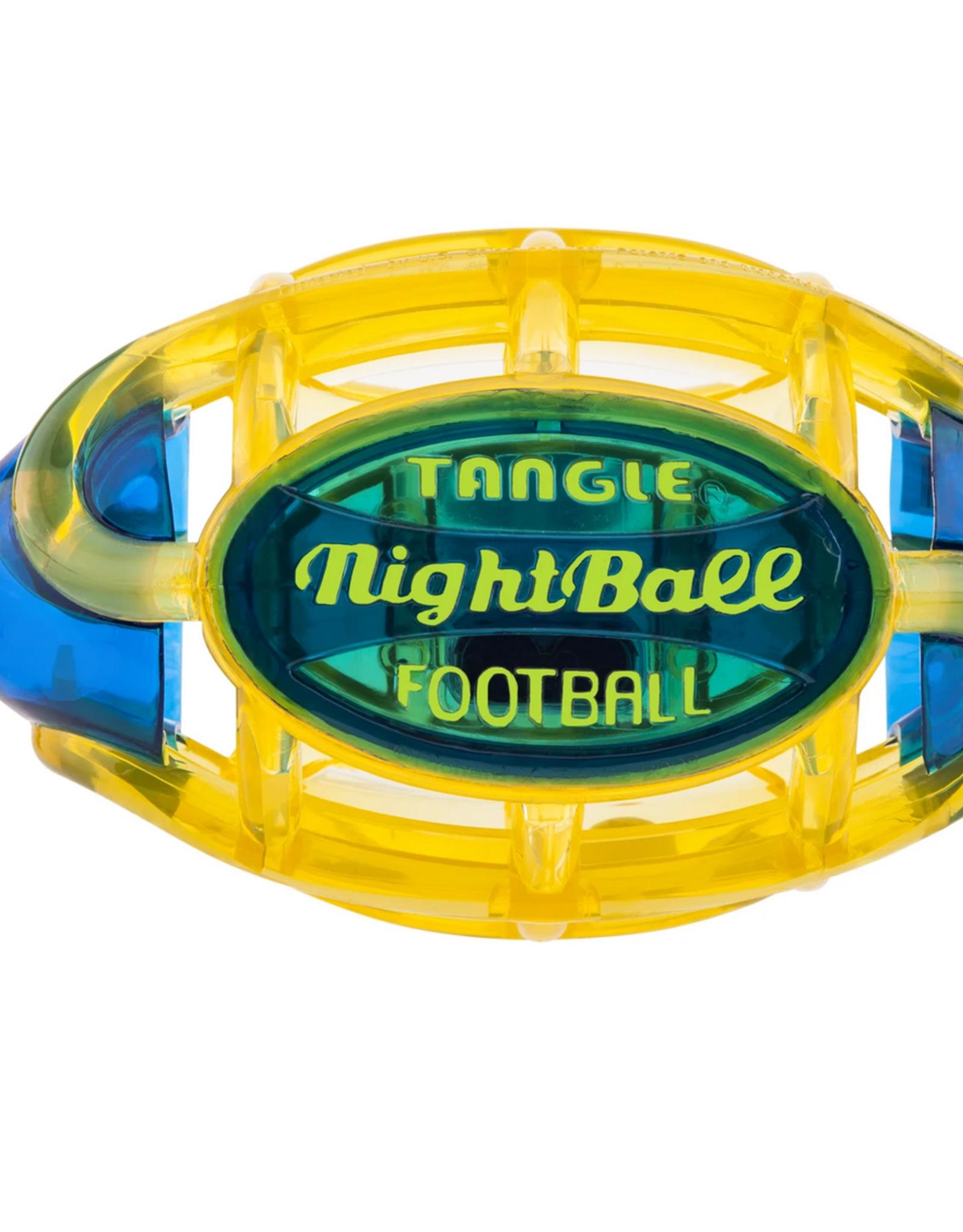 Tangle Nightball Football - Small Y/B