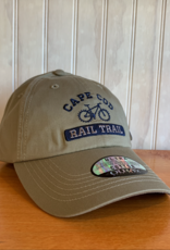 Ouray Cape Cod Rail Trail Baseball Cap - Khaki / Olive
