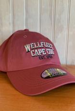 Ouray Wellfleet est 1763 Baseball Cap - Nantucket Red
