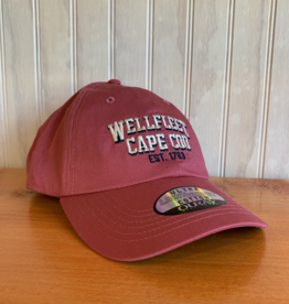 Ouray Wellfleet est 1763 Baseball Cap - Nantucket Red