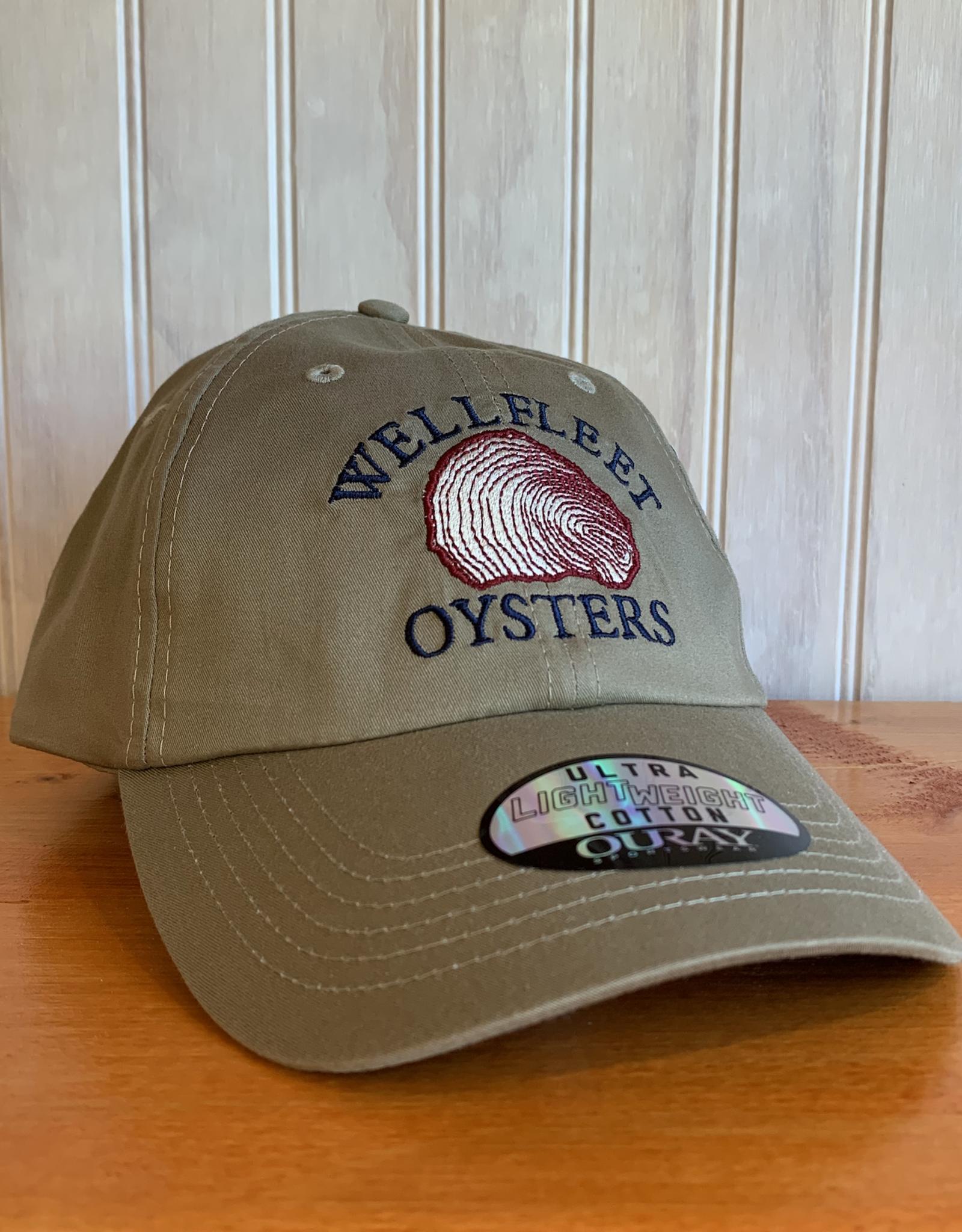 Ouray Wellfleet Oysters Baseball Cap -   Khaki