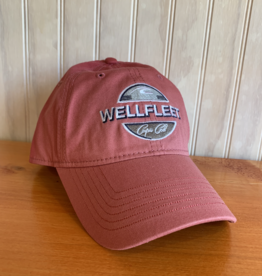 Ouray Wellfleet Circle Baseball Cap - Red
